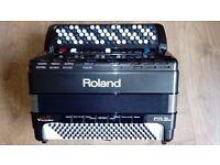 Roland fr3sb 5 row.