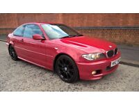 06 BMW 320CD MSPORT 6 SPEED 150 BHP MAY PX IMOLA RED