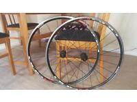 Road / hybrid 700c bicycle bike wheels wheel-set shimano R500