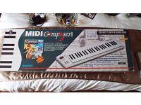 QUICKSHOT MIDI KEYBOARD CONTROLLER