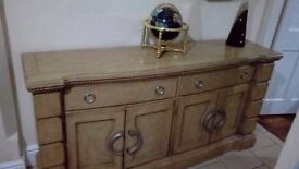 Beautiful sideboard solid wood from dfs cost over £1000 new