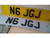 PRIVATE REGISTRATION PLATES