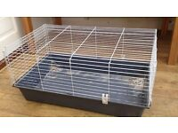 Rabbit guinea pig cage hutch