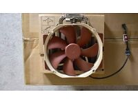 Noctua NH-U14S CPU Fan. Used for a couple of months only! Absolutely like new.