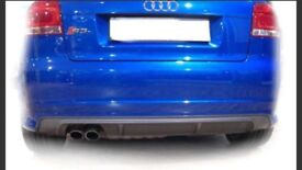 Audi s3 bumper and side skirts