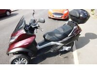 extremly low mileage piaggio mp3 250 fully working great condition must see