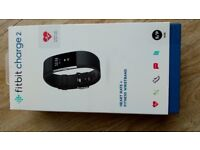 Fitbit HR Charge Large & Small Black