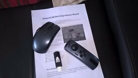 Aimon PS - Wireless Mouse and Nunchuck Controller for PS3