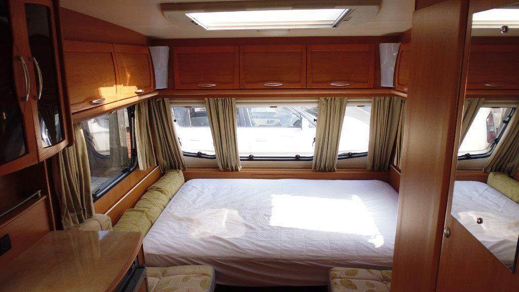 Lunar Stellar 400 2 Berth Touring Caravan Lightweight