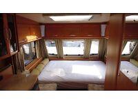 Lunar stellar 400 2 berth touring caravan lightweight modern alloys motormover fixed bed