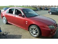 Red MG ZT+ 120 car for sale.