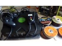 Original Xbox with 80 plus games