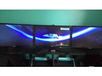 selling 3 BenQ monitors and stand