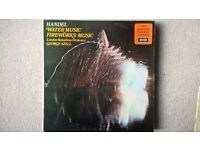 "Handel: Water Music / Fireworks Music [12"" Vinyl LP] George Szell"
