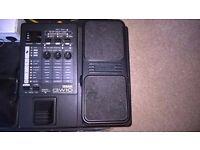 Yamaha GW-10 multi-effects pedal.