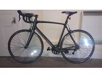 NEW! Revolution carbon road bike. 58cm, great gift, swap for touring