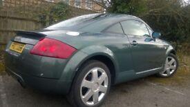 Audi TT 1.8 T Quattro 3dr, 1395 ONO Quick sale sought.