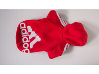 Red Dog Coat Hoodie Sweatshirt Small Size New and Unused