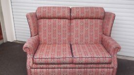 2 Piece Settee. Good condition