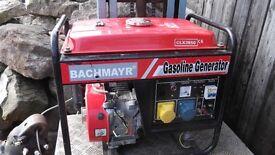 petrol generator BACHMAYR clx3850
