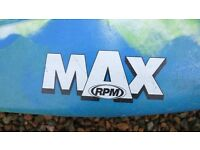 Dagger MAX RPM and Palm classic spray deck