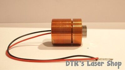 25mm 1w Ndg7475 520nm Laser Diode In 25mm Copper Module Wleads Glass Lens