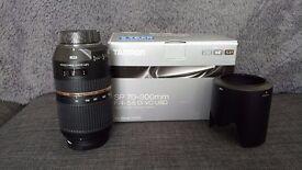 Tamron SP AF 70-300mm f/4-5.6 Di VC USD Lens NIKON FIT! £220 ono