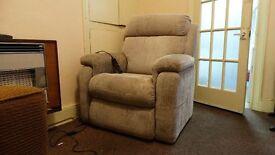 Riser recliner electric chair