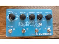 tc electronic Flashback X4 delay and looper guitar effects pedal
