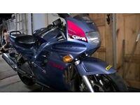 .Honda 600 cbr f
