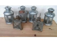 6x lanterns ***Can deliver***