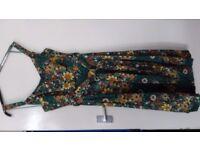 Emerald patterned dress size 18