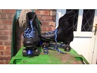 mens size 10 roller boots in vgc