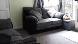 Grey sofa 3 and 2 seater