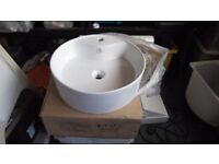Artise Bathroom Round 470mm Sink (With or without Tap -brand new)