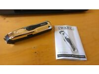 WAHL Tattoo Hair Clipper Trimmer Fading Shading Shave Barber Battery