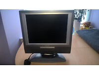 """15"""" TV with built-in DVD player"""