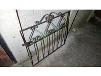 Gate wrought metal