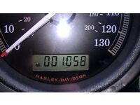 Harley Davidson 1200 Nightster 2009 very low mileage 1000 miles from new, mint condition on priva