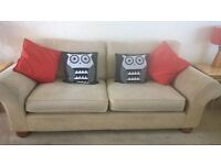 M&S sofas 2 and a 3 seater