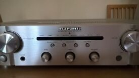 Marantz PM6005 Stereo Integrated Amplifier with remote. Excellent condition, boxed, instructions.