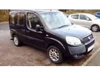 Fiat Doblo - Adapted to carry 2 wheelchairs, low mileage, Long MOT. 2 new tyres. Gowrings mobility
