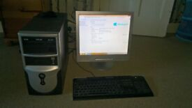 PC Computer incl. monitor for sale