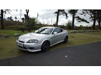 2005 Hyundai Coupé 1.6 New shape Face-lift model Moted July 17, May take a diesel as a trade-in