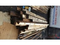 Various size gate posts