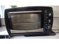 ELECTRIC MINI OVEN WITH GRILL AND ROTISSIERE