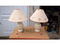 Matching lampshades