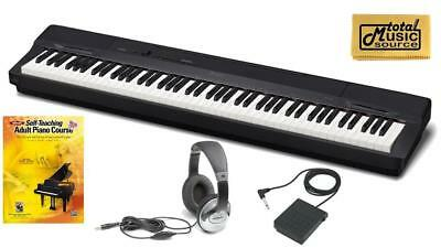 Casio Privia PX-160  PACK1 Digital Piano TMS Bonus Pack- Black