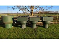 Large Koi pond vortex filtration system for sale, ponds up to 7500 gallons