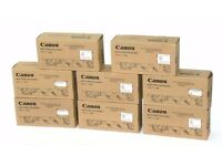 Job lot 8x New Genuine Canon FM3-8137-020 Waste Toner Case Assemblies / Bottles / Cases